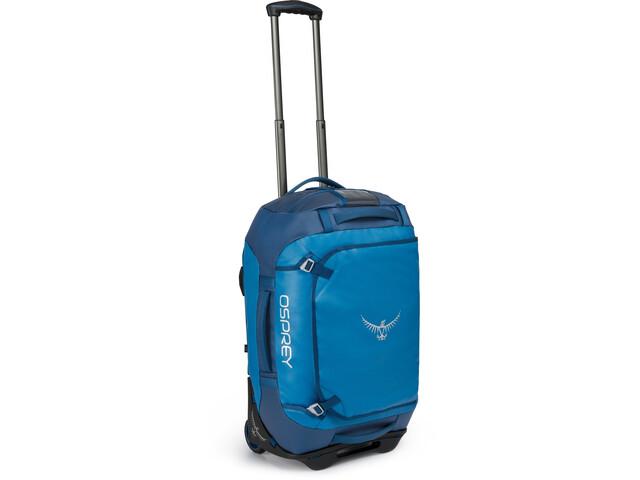 Osprey Rolling Transporter 40 Duffel Bag, kingfisher blue
